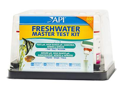 Testing your ammonia, nitrite, and nitrate is an important part of maintaining an overstocked aquarium