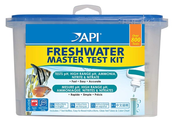 api master test kit will let you know if your filter media is coping with the fish load
