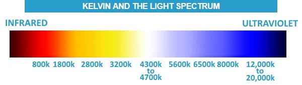 Kelvin light spectrum planted tank aquarium values