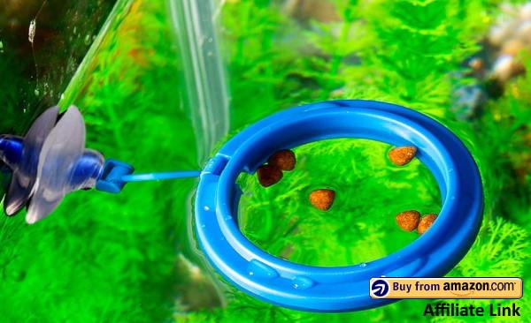 SLSON Fish Aquarium Feeding Ring
