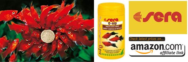 sera o-nips fish food actually makes a good gift for fishkeepers and aquarium hobbyists