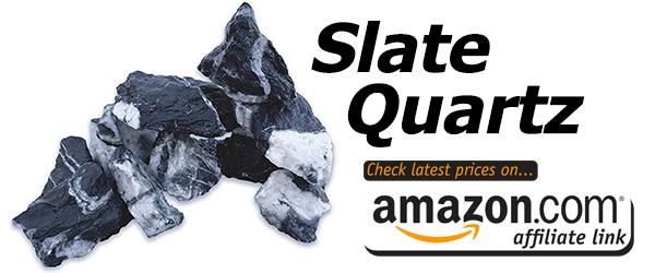 slate quartz is a pretty and ornate addition to your aquarium aquascape