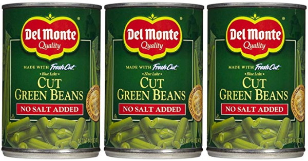 canned green beans are a good food for bristlenose plecos