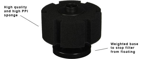 bacto surge sponge filter