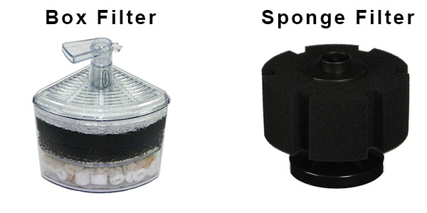 are box filters  corner filters better than sponge filters
